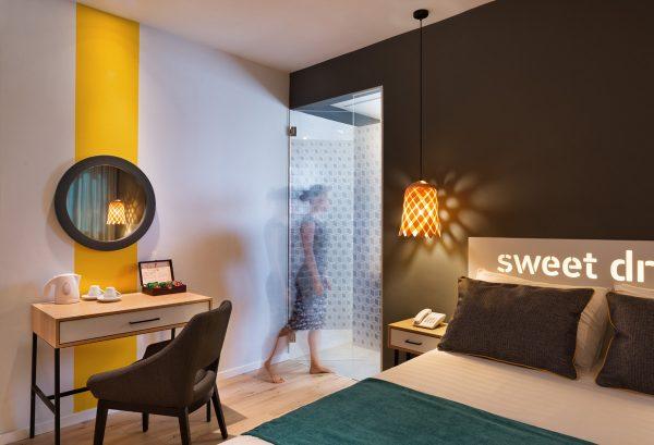 עיצוב פנים וקונספט מלון PRIMA CITY - סטודיו To Do